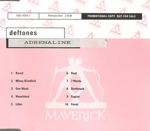 Adrenaline CD Promo