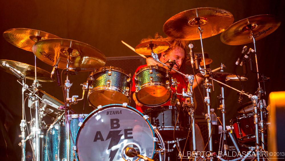 Abe Cunningham - Milano - 27 Agosto 2013