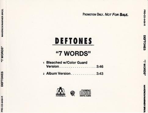 7 Words Promo