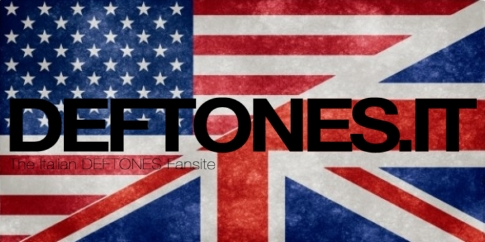 Deftones.it in Inglese